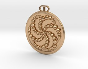 Solsbury CC Pendant Redux 3D print model