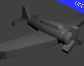 Japanese B5N Kate Torpedo Bomber 3D print model