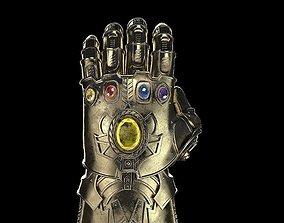 3D Thanos Infinity Gauntlet Avengers Marvel
