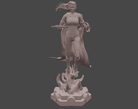 3D print model Scarlat Witch - WandaVision Fanart Version