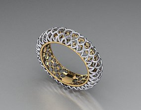 3D printable model ring gold jewelry fashion-ring