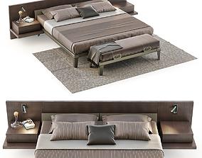 Poliform Bedroom Set 3D