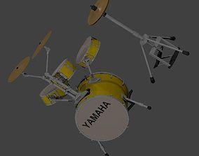 3D model Yamaha Rick Marotta Signature Hipgig in Mellow