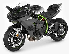 3D Kawasaki Ninja H2R