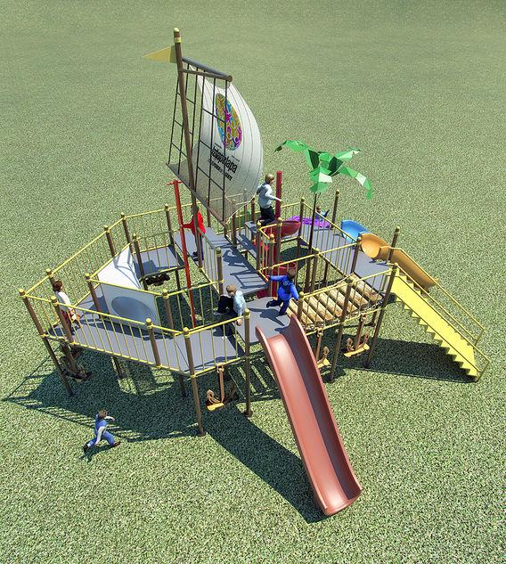 Playground Ship
