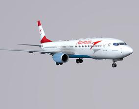 3D model Boieng 737-800 Austrian Airlines