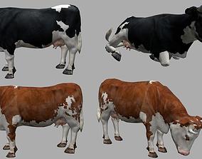 Cow lowpoly 3D model