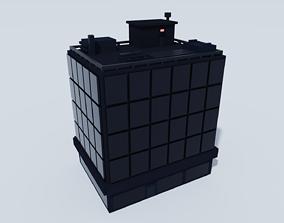 Voxel Building - 1 3D model