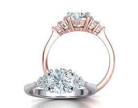 1ct Diamond Engagement ring Classic ring