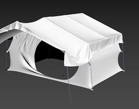 3D Tent 8-person Uw Opened