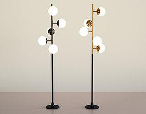3D Cherries Floor Lamp
