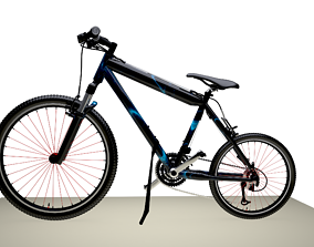 3D racing bicycle Bicycle