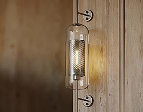 3D model Chiswick glass wall light