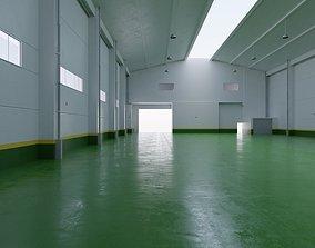 3D model Factory Hall Interior 4