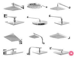 3D Fixtures - Shower Head Pack A
