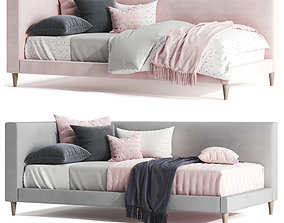 Pottery Barn corner timo bed 3D