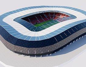 3D asset Allianz Riviera - Stade de Nice