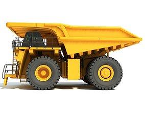 3D model Mining Dump Truck dumptruck
