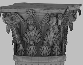 Column 3D ancient