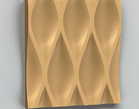 3D model Wall Panel 004