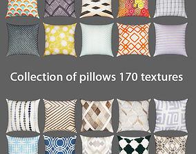 3D Collection of pillows 170 textures