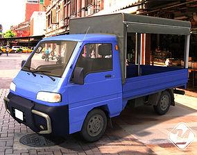 Truck in Asia 3D asset