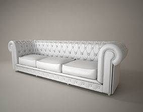 05 LEATHER SOFA 3D model