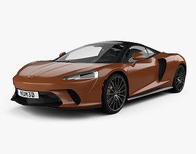 McLaren GT 2020 3D model 2022