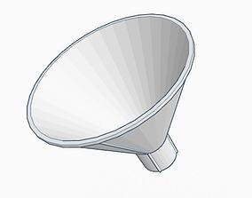 Funnel 3D printable model kalb