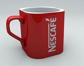 3D model Nescafe Coffee Mug
