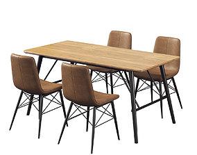 Dining Room Set 277 3D