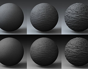 3D model Collection Displacement Landscape Shader