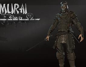 3D asset Samurai remastered 2
