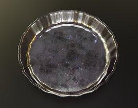 Glass Saucer 3D asset game-ready