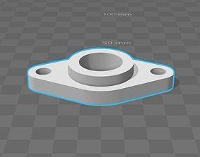 bearings holder D22 B11 d8 3D printable model