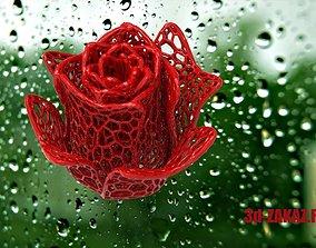 Rose Design Voronoi 3D printable model