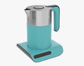 Modern electric kettle 02 3D model PBR