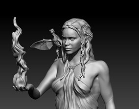 Daenerys Targaryen 3D printable model