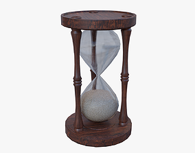 3D model Old Hourglass