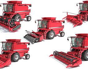 combine Combine Harvester 3D Models