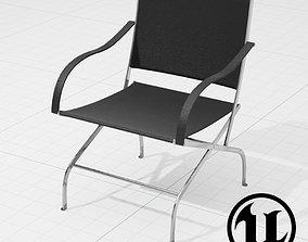 3D model Flexform Carlotta Chair UE4