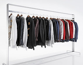 fabr1 Various types of jackets 3D