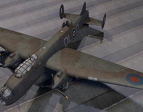 3D Avro Manchester Mk-1