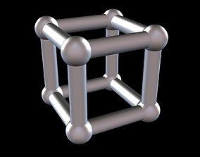 002 Mathart - Platonic Solids - Cube 02 - 3D print model 1
