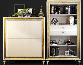 3D model Mugali Cabinet bookcase Galiano emocion