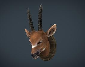 African Antelope mount 3D model