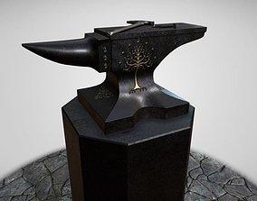 Shadow of Morodor Celebrimbors Forge Scene 3D