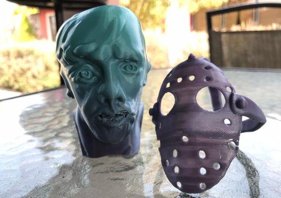 Jason Voorhees Bust 3D Print