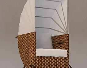 3D model VINCENT SHEPPARD cabrio chair