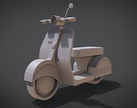 Classic Scooter 3D printable model